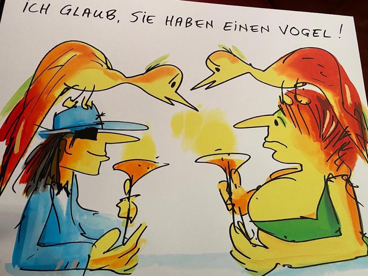 Udo Lindenberg Ich glaub Sie haben einen Vogel