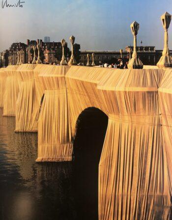 Christo Pont Neuf 1985