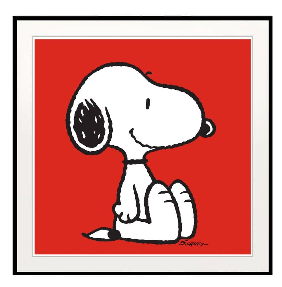Peanuts Snoopy Red