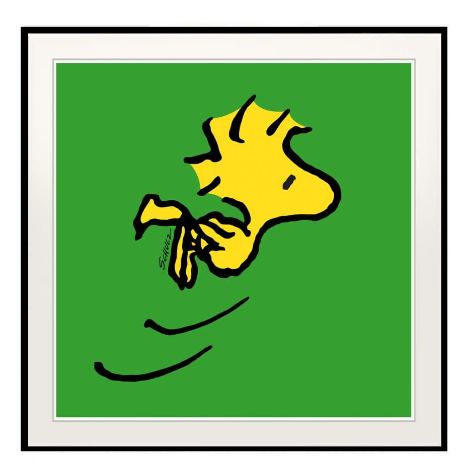 Peanuts Woodstock Green