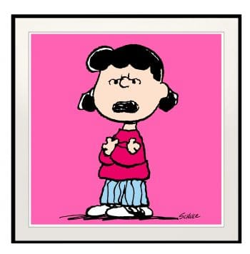 Peanuts Lucy