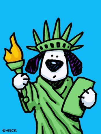 Ed Heck Liberty Dog
