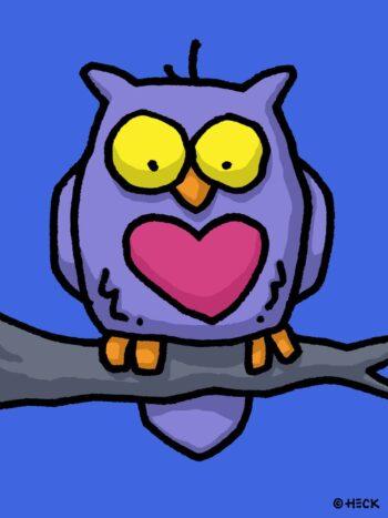 Ed Heck Owl U Need Is Love