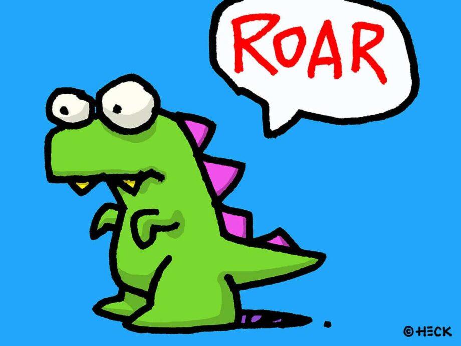 Ed-Heck-Roar-Pigmentdruck