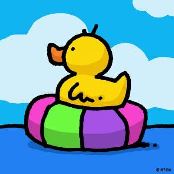 Rubber Tube Duck