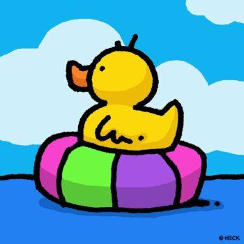 Ed Heck Rubber Tube Ducky
