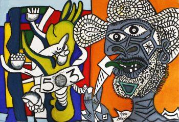 Hommage á Picasso et á Fermand Leger