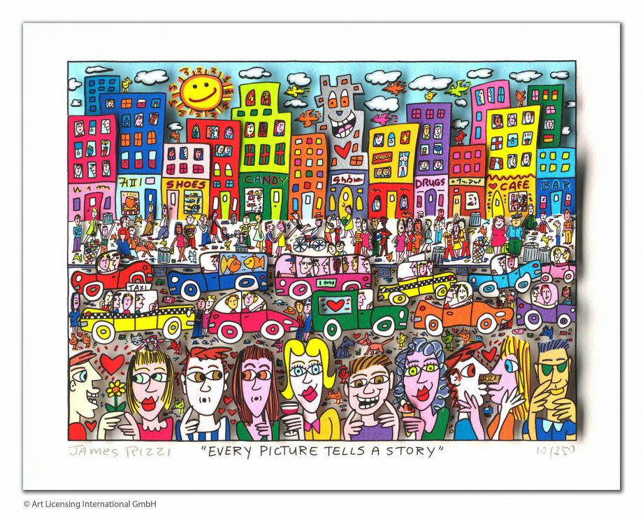 James Rizzi Every Picture Tells A Story