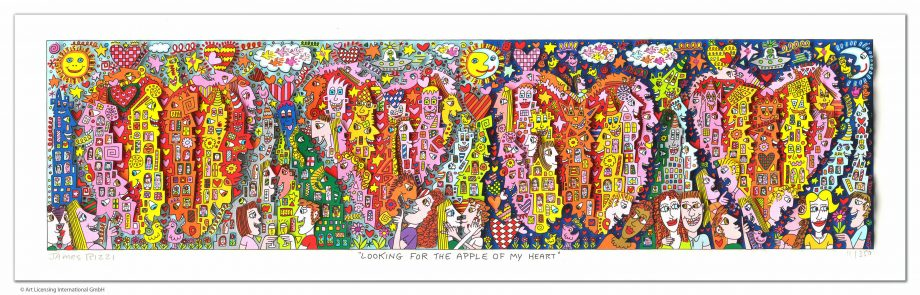 James Rizzi Looking for the apple of my heart