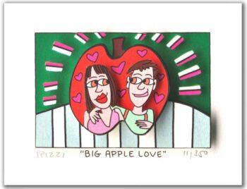 James Rizzi Big Apple Love