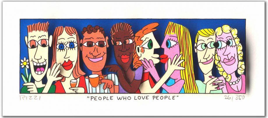 James Rizzi People Who Love People