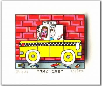 James Rizzi Taxi Cab