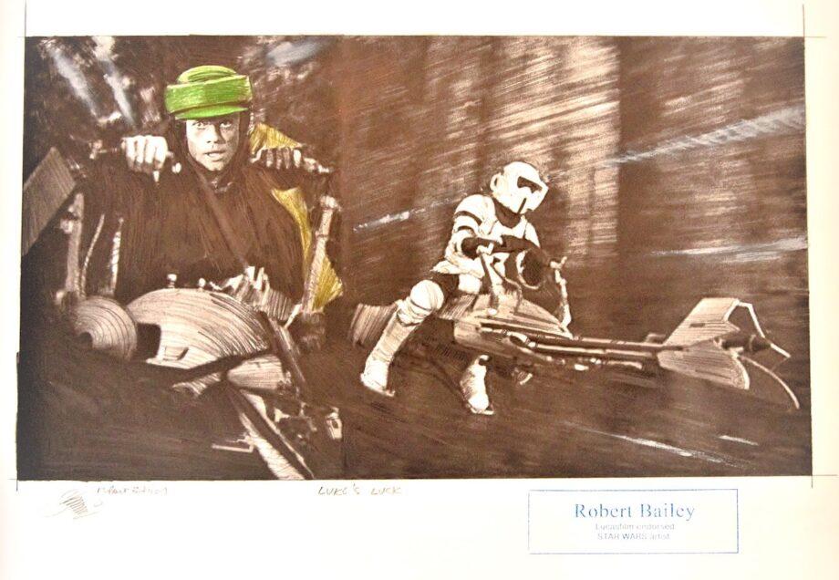 Robert Bailey Starwars Lukes Luck