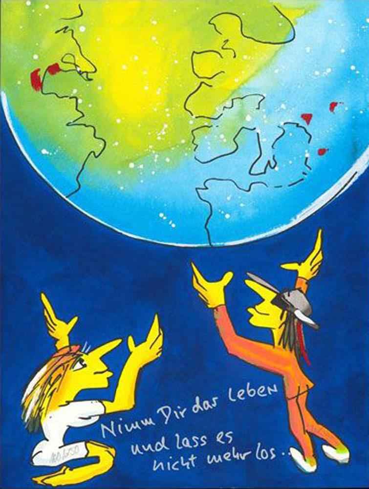 Udo Lindenberg |Nimm Dir das Leben –und gib es nicht mehr her
