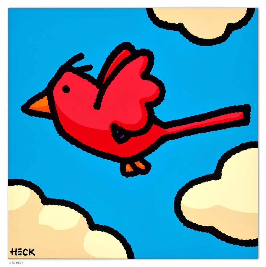Ed Heck In Flight