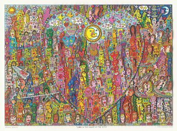James Rizzi Love in the heart of the city