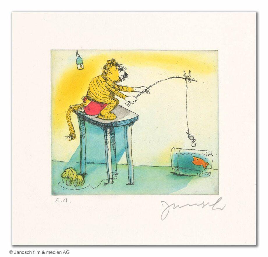 Janosch Ein Goldfisch für den Tiger