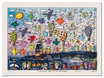 James Rizzi Cruise me to Istanbul