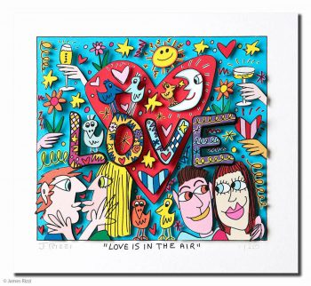 James Rizzi Love is in the air