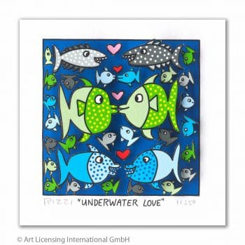 James Rizzi Underwater Love