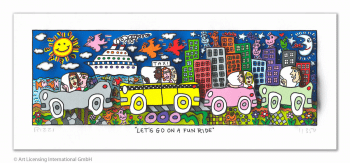 James Rizzi Lets go on a fun ride