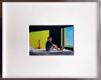 Otto Waalkes Sitting in the morning sun