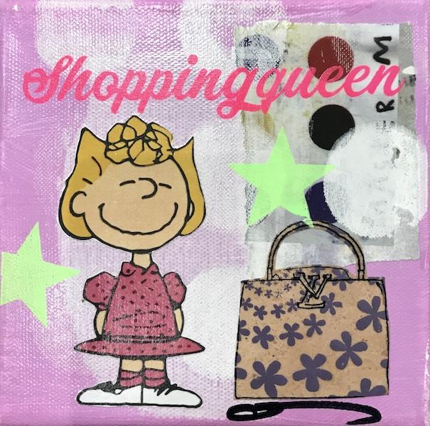 Anna Flores Little Icon Shopping Queen