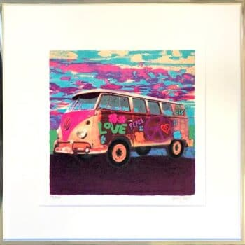 James Francis Gill Mini Hippie Bus