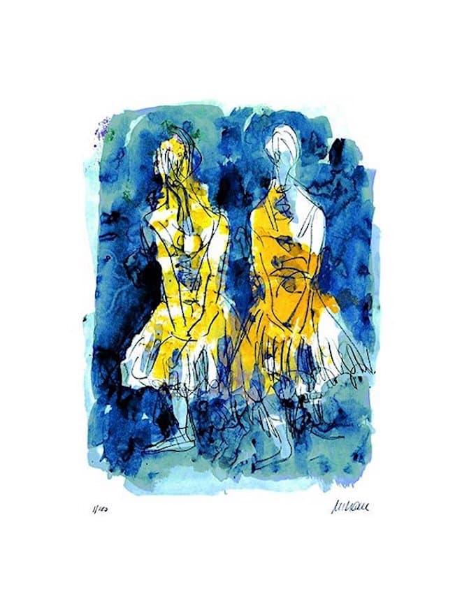 Armin Mueller-Stahl Tänzerinnen nach Edgar Degas
