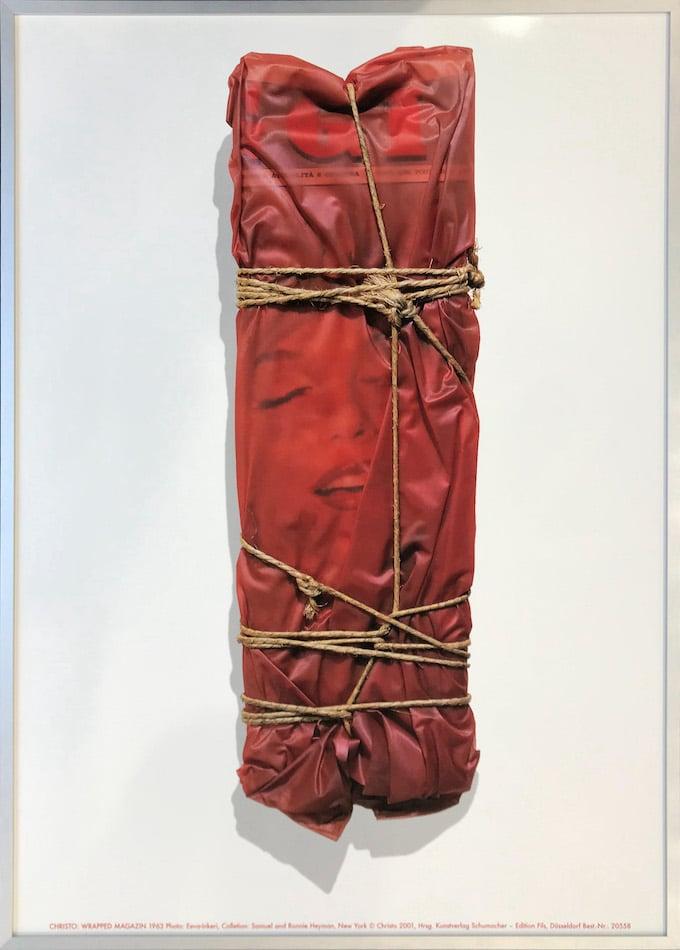 Christo Wrapped Magazine