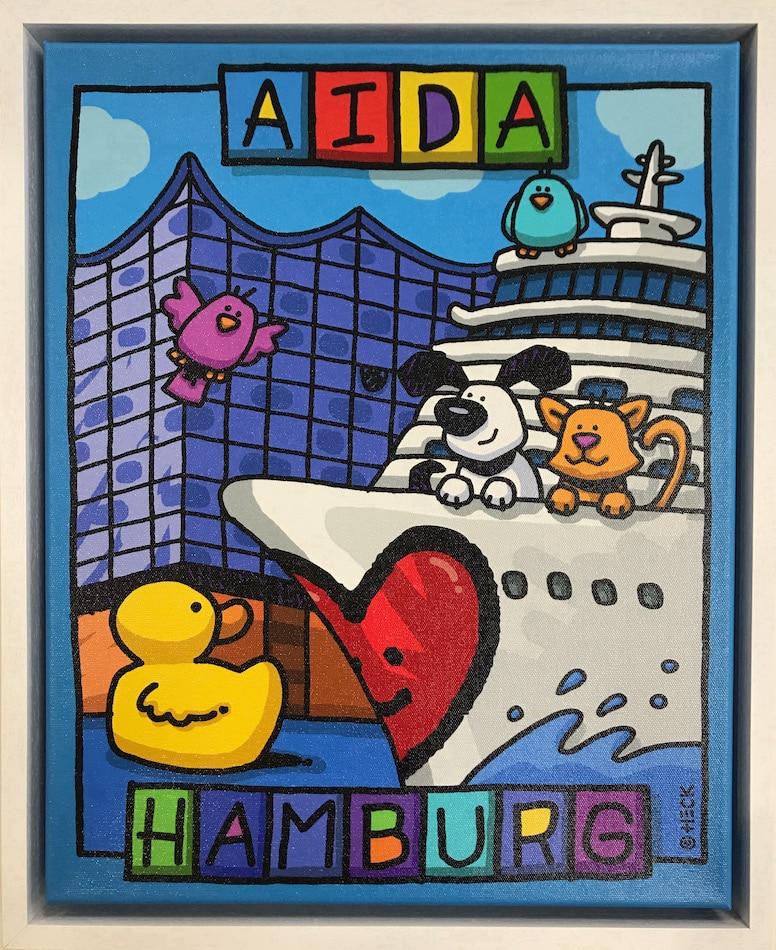 Ed Heck AIDA Hamburg