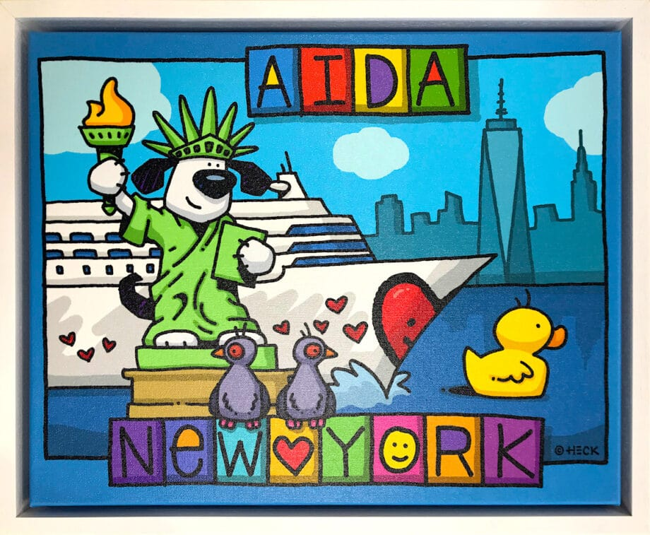 Ed Heck AIDA New York