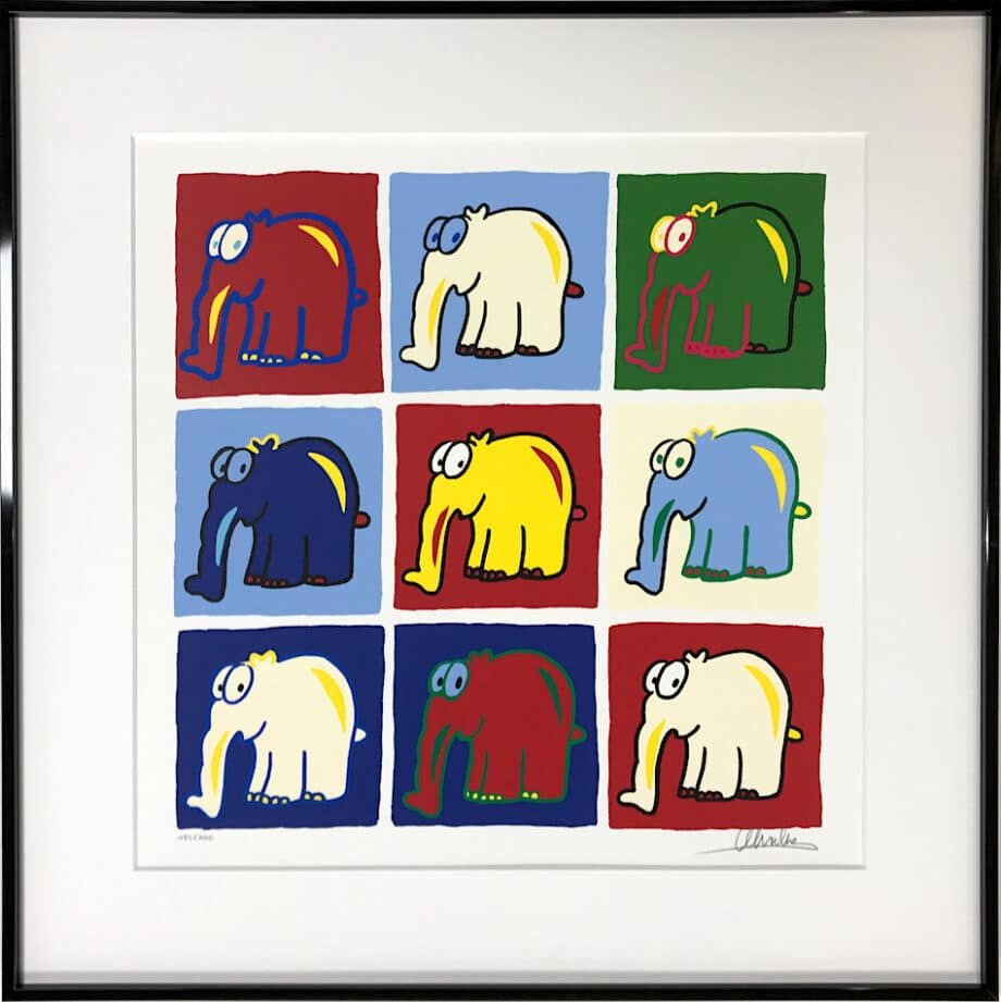 Otto Waalkes Hommage an Andy Warhol