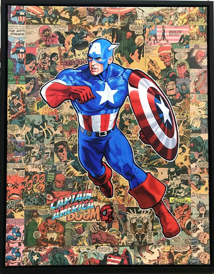 Randy Martinez Captain America