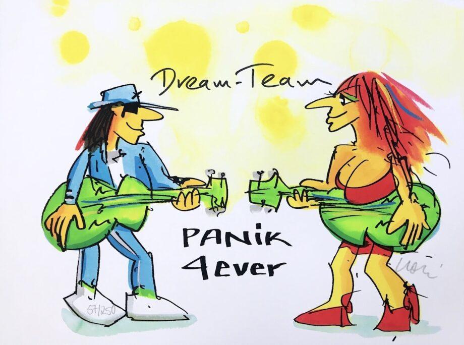 Udo Lindenberg Dream-Team Panik 4ever
