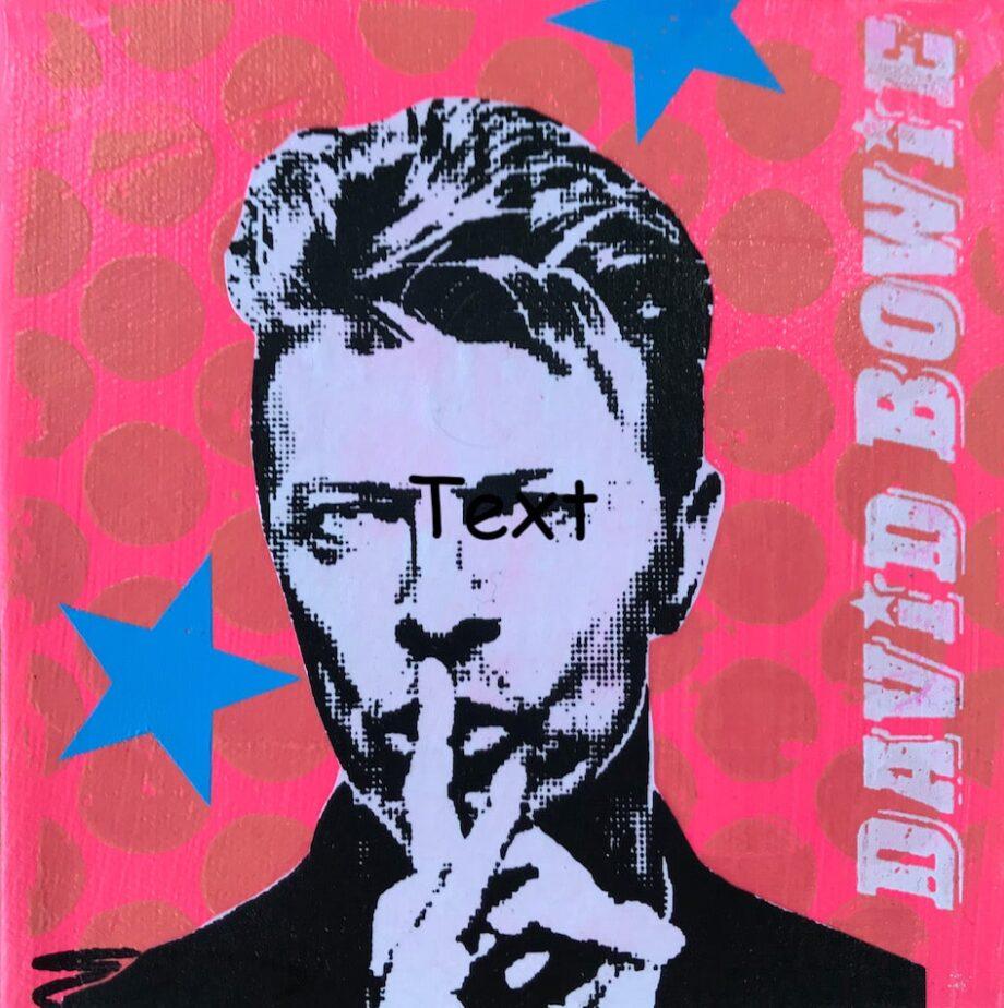 Anna Flores Little Icon David Bowie