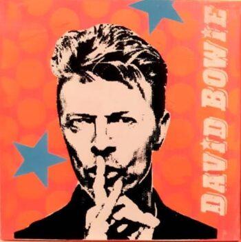 Anna Flores Little Icon David Bowie orange