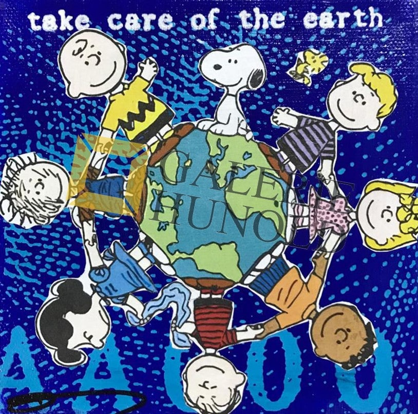Anna Flores Little Icon Take care of the earth
