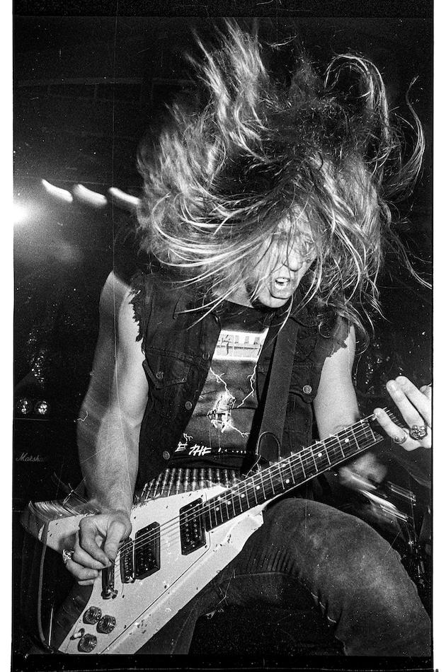 Micha Ende Metallica James Hetfield