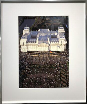 Christo Verhüllter Reichstag handsigniert