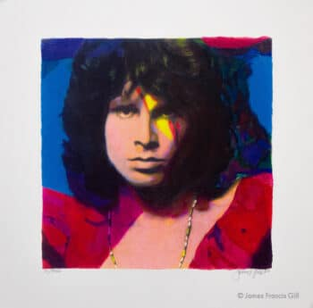 James Francis Gill Jim Morrison Mini