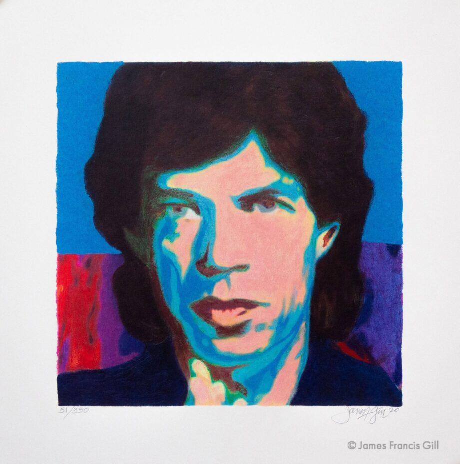 James Francis Gill Mick Jagger Mini