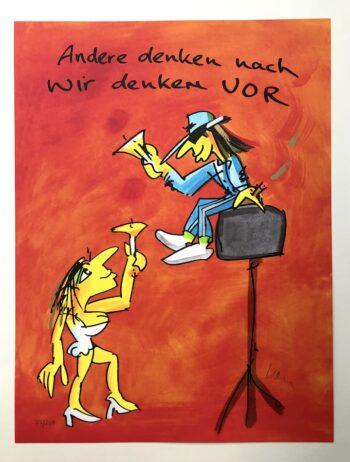 Udo Lindenberg Andere denken nach wir denken vor