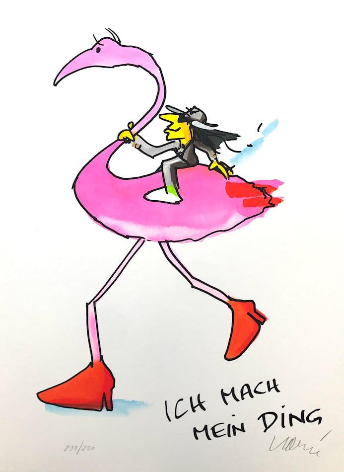 Udo Lindenberg Ich mach mein Ding Ingo Flamingo