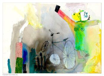 Janosch Fahrrad