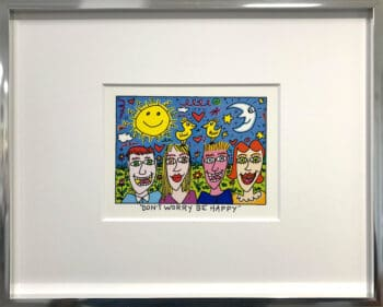 James Rizzi Don't Worry Be happy