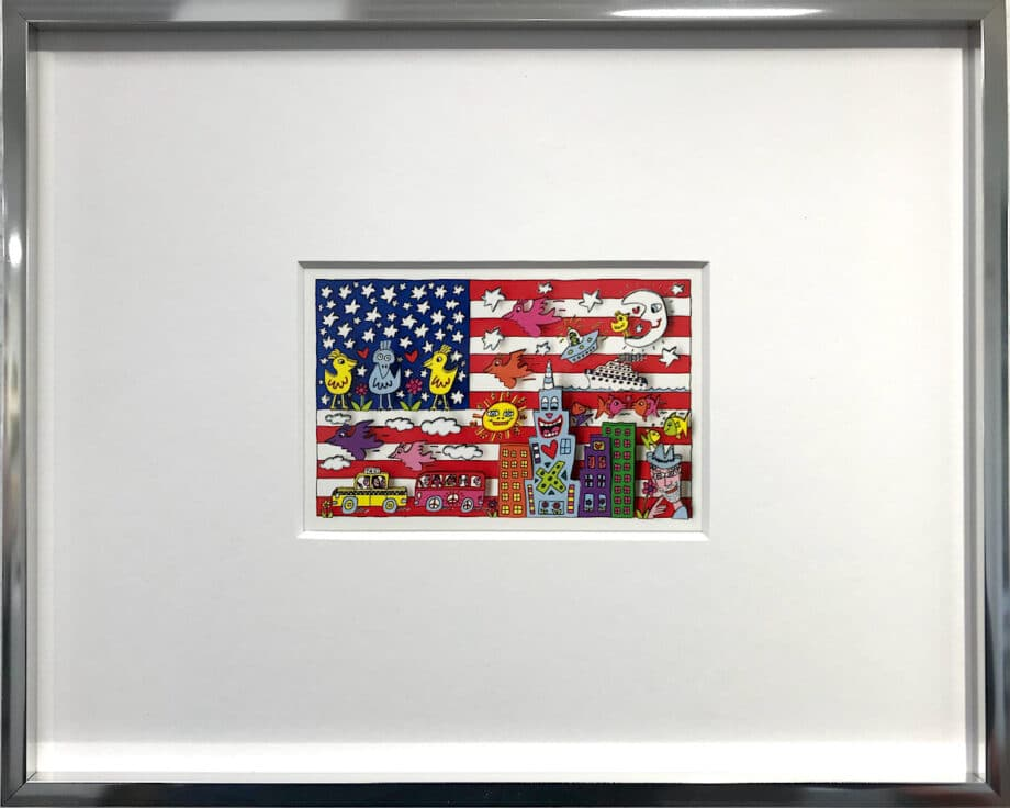 James Rizzi Living in the USA