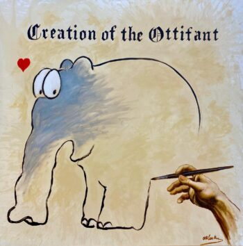 Otto Waalkes Creation of the Ottifant
