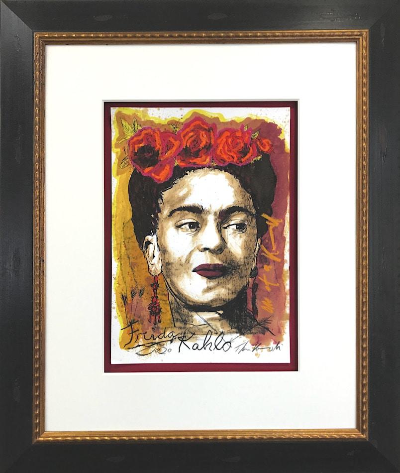 Thomas Jankowski Frida Kahlo gerahmt