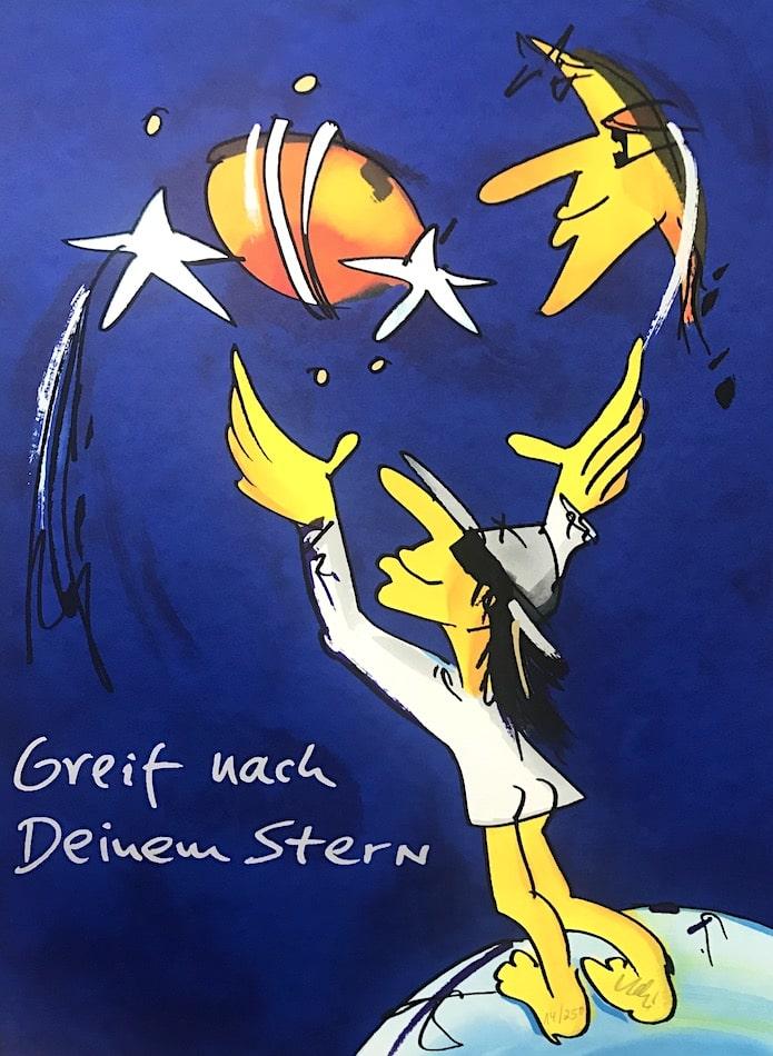 Udo Lindenberg Greif nach Deinem Stern (blau)